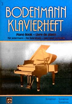 Bodenmann Klavierheft für jedermann 3