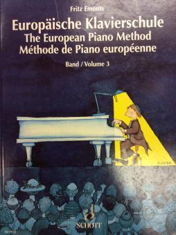 Europäische Klavierschule 3