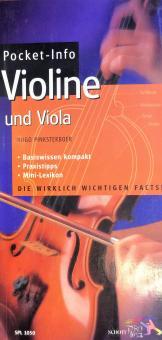 Pocket-Info Violine & Viola